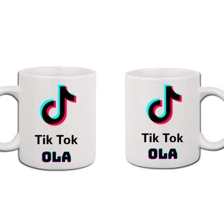 Kubek Tik Tok z twoim imieniem / TikTok