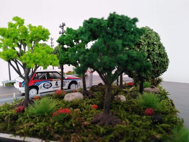 Diorama WRC Lancia