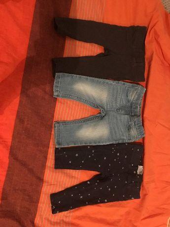 Джинсы штанишки привезены с Германии Papagino цена за лот р.74-80