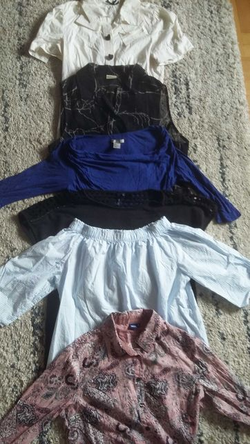 Ubrania HM Zara Mango ciążowe rozmiar s-m mega paka