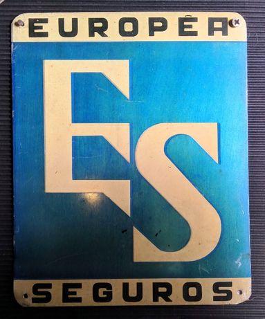 Placa Seguradora Europea Seguros