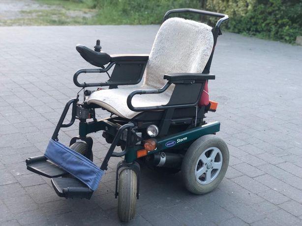 Elektryczny wózek inwalidzki nowe baterie