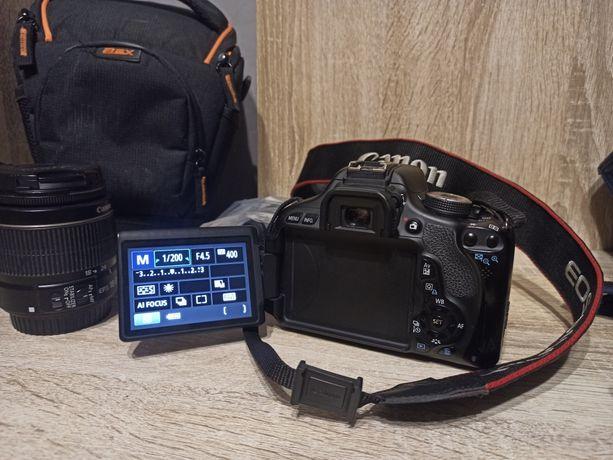 Фотоапарат canon 600D+Объективы 17-55+55-200 mm f4.5-5.6 , сумка