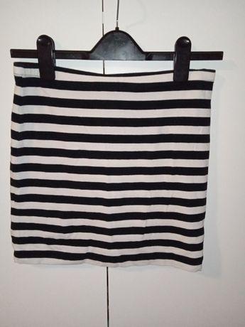 Spódnica dopasowana w paski S H&M