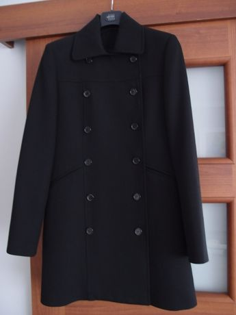Riani czarna kurtka płaszcz trencz, żakiet 38