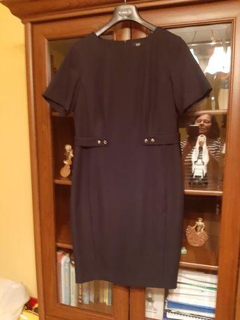 Czarna nowa ołówkowa sukienka