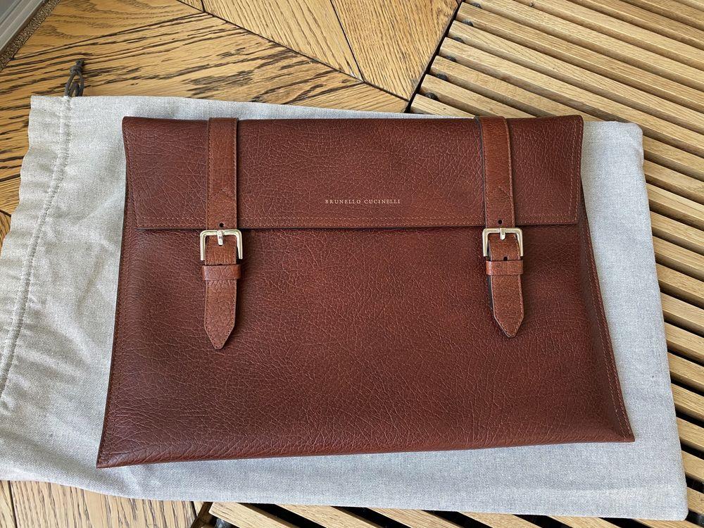 Папка для документов brunello cucinelli сумка портфель