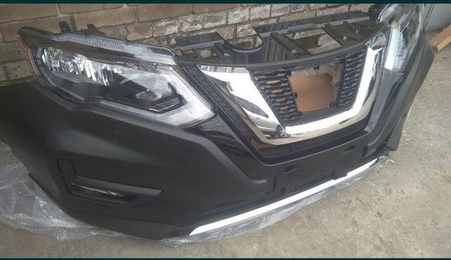 Nissan Rogue 2013- 2019 USA. Бампер передний .ДВЕРИ , капоты. .Фары .