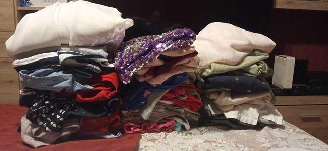 Paka ubrań dla nastolatki aż 43 szt Hm/Reserved/CARRY itp 128-146 cm