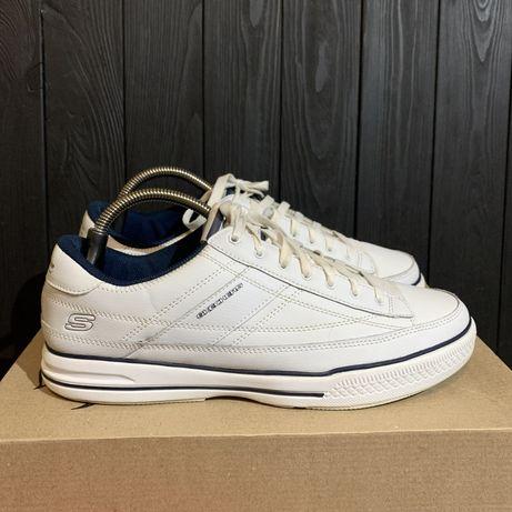 Кожаные кроссовки Skechers memory foam 43 размер Nike adidas asics