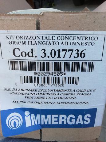 Продам Комплект коаксиального дымохода Immergas 60/100 мм
