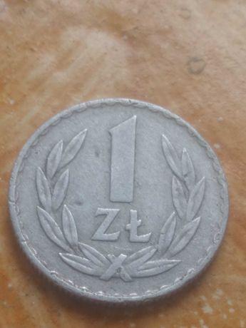 Moneta 1zl PRL 1971r
