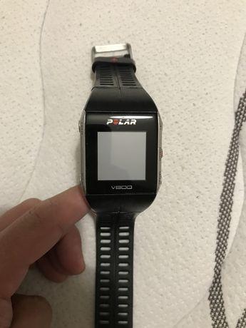 Polar V800 (avariado) + Sensor H7 (a funcionar)