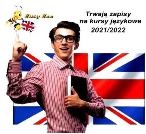 Język angielski korepetycje zapisy na kursy językowe 2021/22 Oświęcim