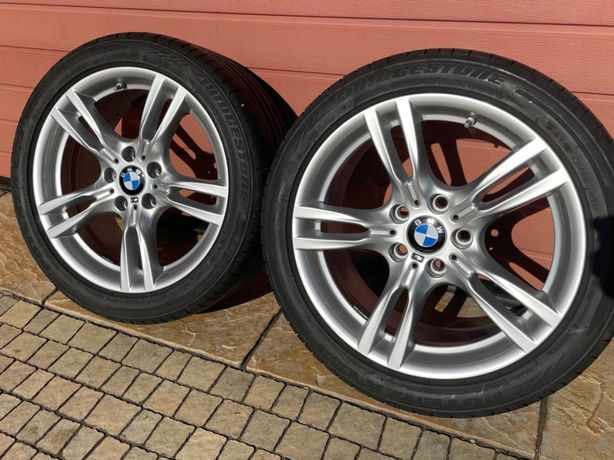 "Felgi aluminiowe BMW M Performance 5x120 m 400 18"" 8,5 i 8 RUNFLAT xd"
