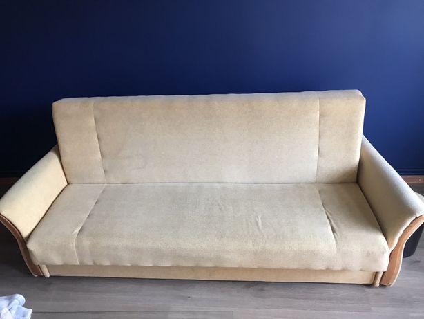 Sofa rozkladana z pojemnikiem