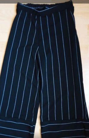 Spodnie paski szerokie nogawki New Look 36/S