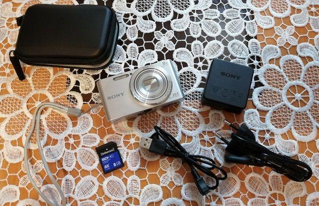 Aparat Cyfrowy Sony DSC-W830+karta pamięci 8GB+etui