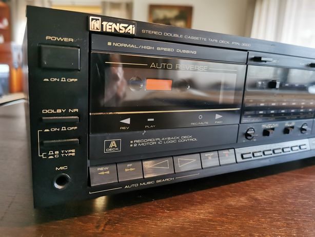 Tensai PTFL 3000 - Deck de cassetes duplo