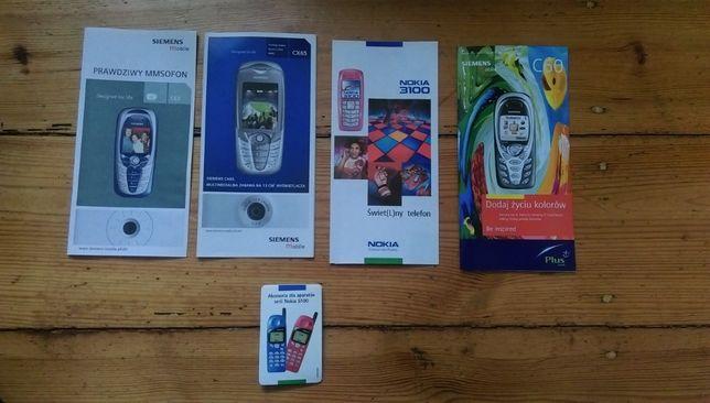 Nokia, Siemens - Broszury foldery