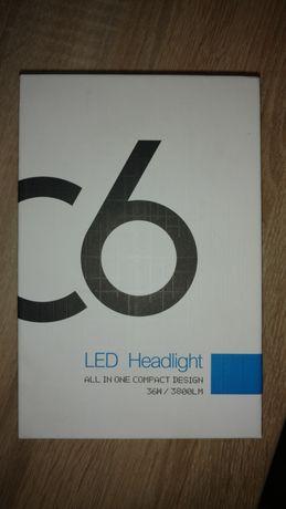 Продам нові світлодіодні лампи в авто H3 / 6000 K