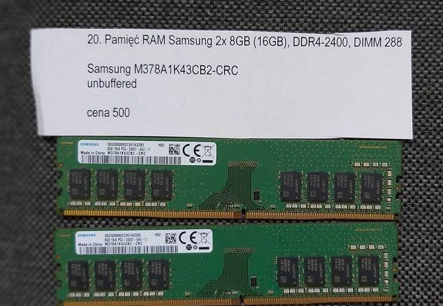 Pamięć RAM Samsung 2x8GB