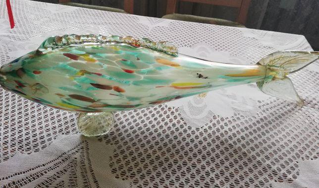 Szklana rybka PRL