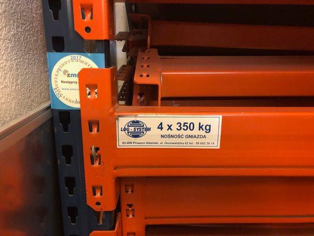 Trawers 3.6m mecalux do regały magazynowe oraz 1.8m