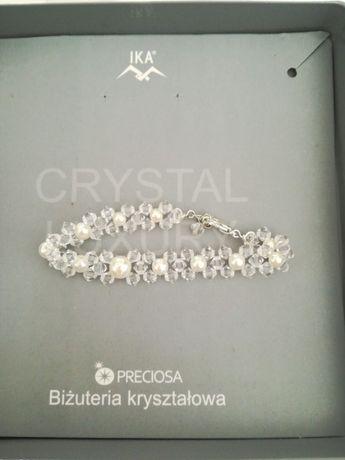 Biżuteria kryształowa na rękę