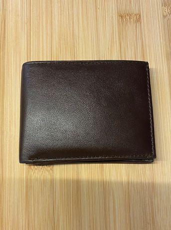 Nowy portfel skórzany Polecam