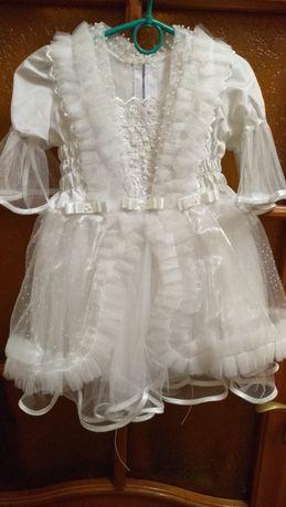 Платье снежинки, зимы