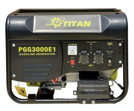 Бензиновый генератор 2.5kW TITAN PGG3000E1