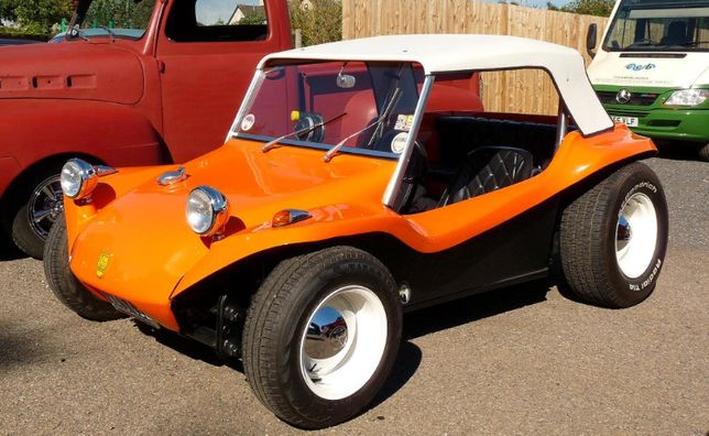 Vw buggy manx completo para montar