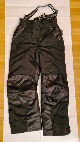 spodnie i rękawice narciarskie