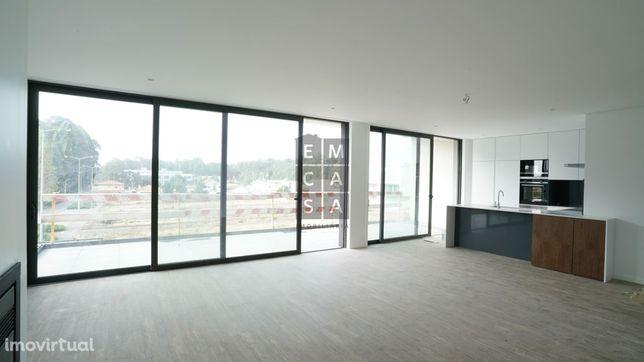Apartamento T3 Novo, a 2min da praia da Madalena