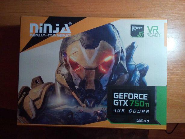 Видеокарта Sinotex Ninja GTX 750 ti 4 GB GDDR 5 (на гарантии) 7200 р.