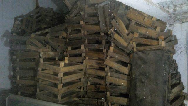 Ящик деревянный низкий