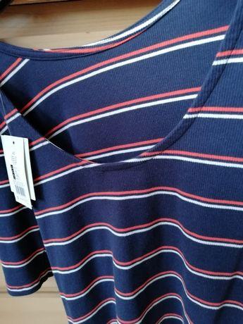 Nowa z metką F&F bluzka w paski 40 M