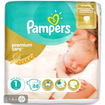 Pampers Premium Newborn 2-5 кг-БЕСПЛАТНО