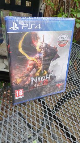 NOWA gra NIOH 2 ps4 playstation 4 ps5 playstation 5 gra konsola