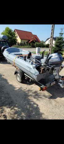 łódź wędkarska spining sum zestaw
