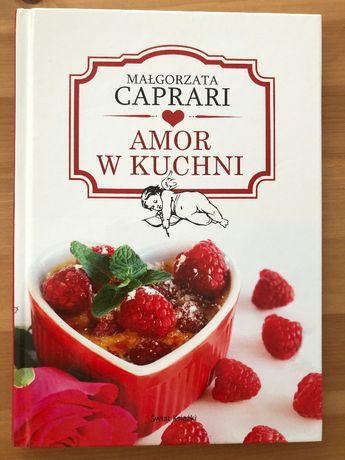 Amor w kuchni- Małgorzata Caprari - prezent Walantynki I love you