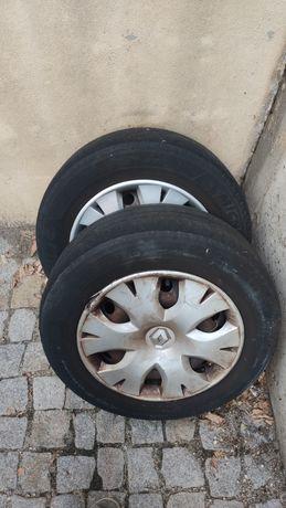 Jantes + pneus para desocupar