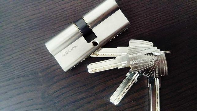 Canhão/Cilindro fechadura+chaves TESA