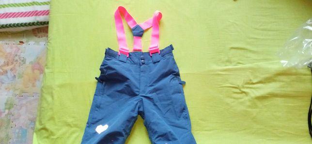 Spodnie narciarskie, ocieplane Cool Club r. 116