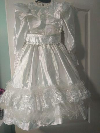Sukienka komunijna plus torebeczka