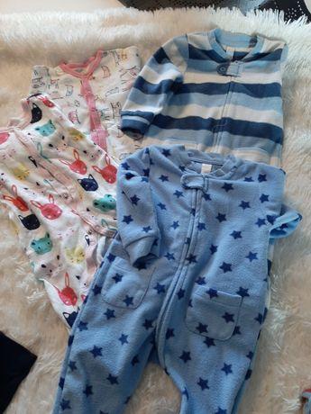 Pajacyki piżamki rozmiar 68