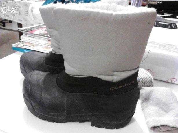 Vendo botas da neve
