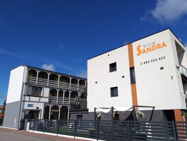 Łeba-Pokoje i Apartament Sandra I dobry standard-dobre opinie
