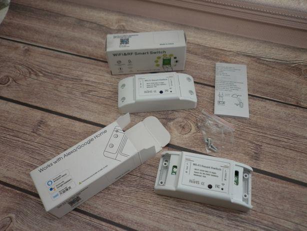 умный выключатель, умная Wifi розетка, реле, выключатель 10А